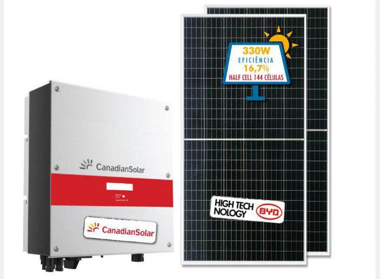 GERADOR DE ENERGIA CANADIAN FIBROCIMENTO